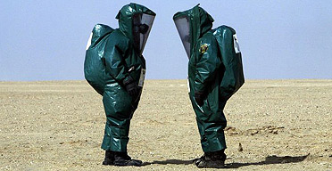 Biological Warfare Training