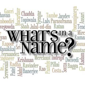 """What's in a name?"""