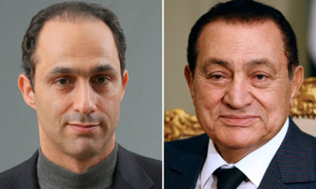 Gamal and Hosni Mubarak are reported to have built up huge fortunes, including properties in London (photo by Cris Bouroncle/AFP/Getty Images)