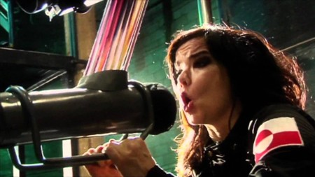 Icelandic singer, Björk