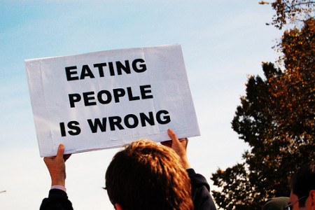 """Eating People is Wrong"""