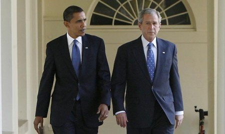 Obama & Bush: Two Peas in a Pod