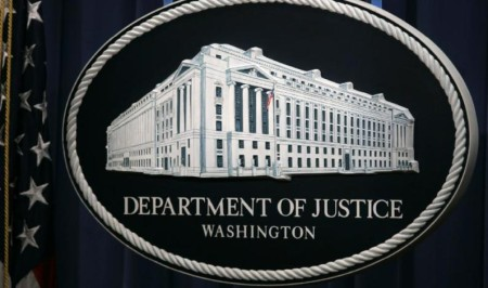 """Department of Justice, Washington"""