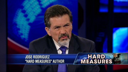 "Jose Rodriguez defends the government act of hiding torture evidence in his new book, ""Hard Measures"""