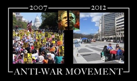 """Anti-War Movement: 2007, 2012"""