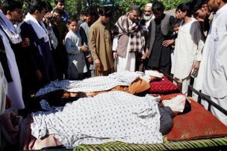 Afghani funeral