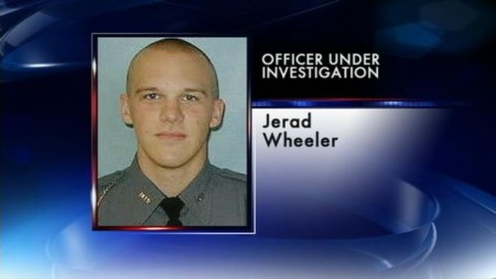 Officer Jerad Wheeler finally under investigation, after being accused of kicking a 9-month pregnant woman in the belly