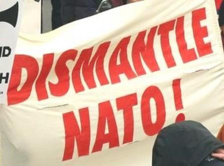 """""""Dismantle NATO!"""""""