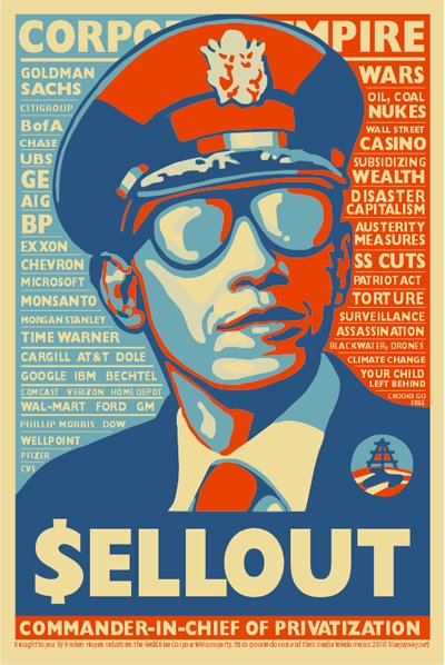 """$ellout, Commander-in-Chief of [Corporate] Privitization"""