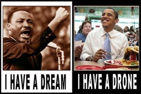 """I have a dream,"" versus ""I have a drone"""