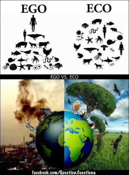 """Ego Versus Eco"" (artwork by ¿ ... ?)"