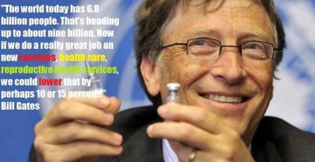 "The world today has 6.8 billion people. That's heading up to about nine billion. Now, if we do a really great job on new vaccines, health care, reproductive services, we could lower that by perhaps 10 or 15 percent."" - Bill Gates"