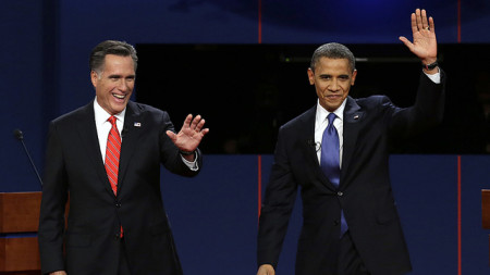 Obama & Romney: Sniveling Cowards