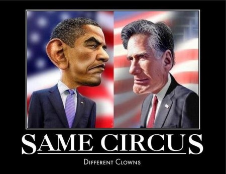 """Same circus. Different clowns."""
