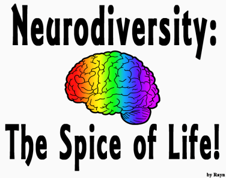 """Neurodiversity: The Spice of Life"" (by Rayn) Share my art!"