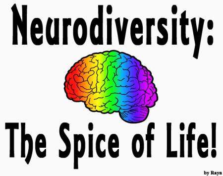 """Neurodiversity: The Spice of Life"" (by Rayn) Share my art!"