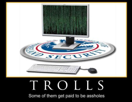 """TROLLS: Some of them get paid to be assholes"""