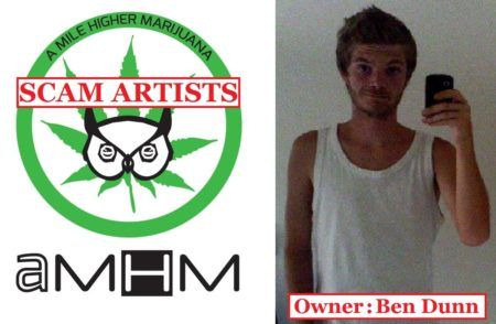 "Contest Scam Perpetrator, Ben Dunn, and his company, ""A Mile Higher Marijuana"""