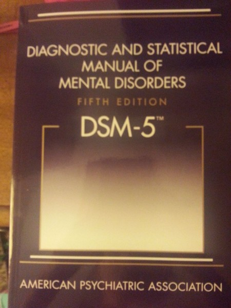 """Diagnostic and Statistical Manual of Mental Disorders, Fifth Edition, DSM-5"""