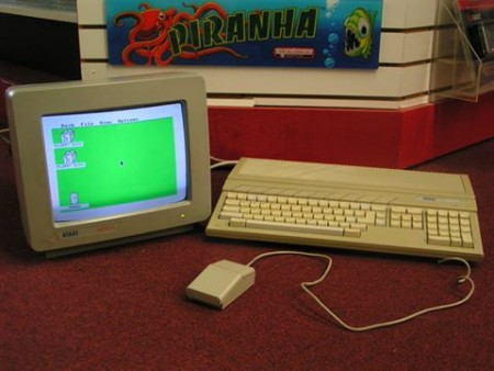 "Atari ST 1040 (AKA ""The Little Green Desktop"")"
