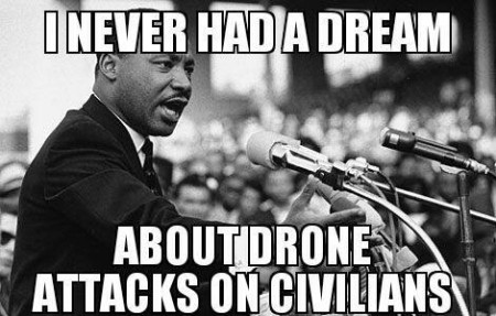 """I never had a dream about drone attacks on civilians"""