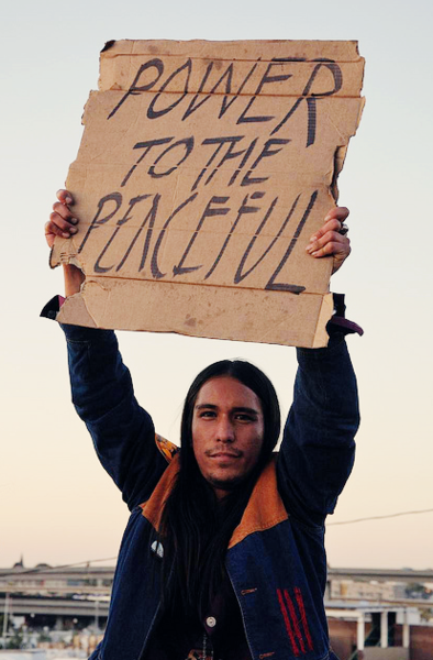 """""""Power to the Peaceful"""""""