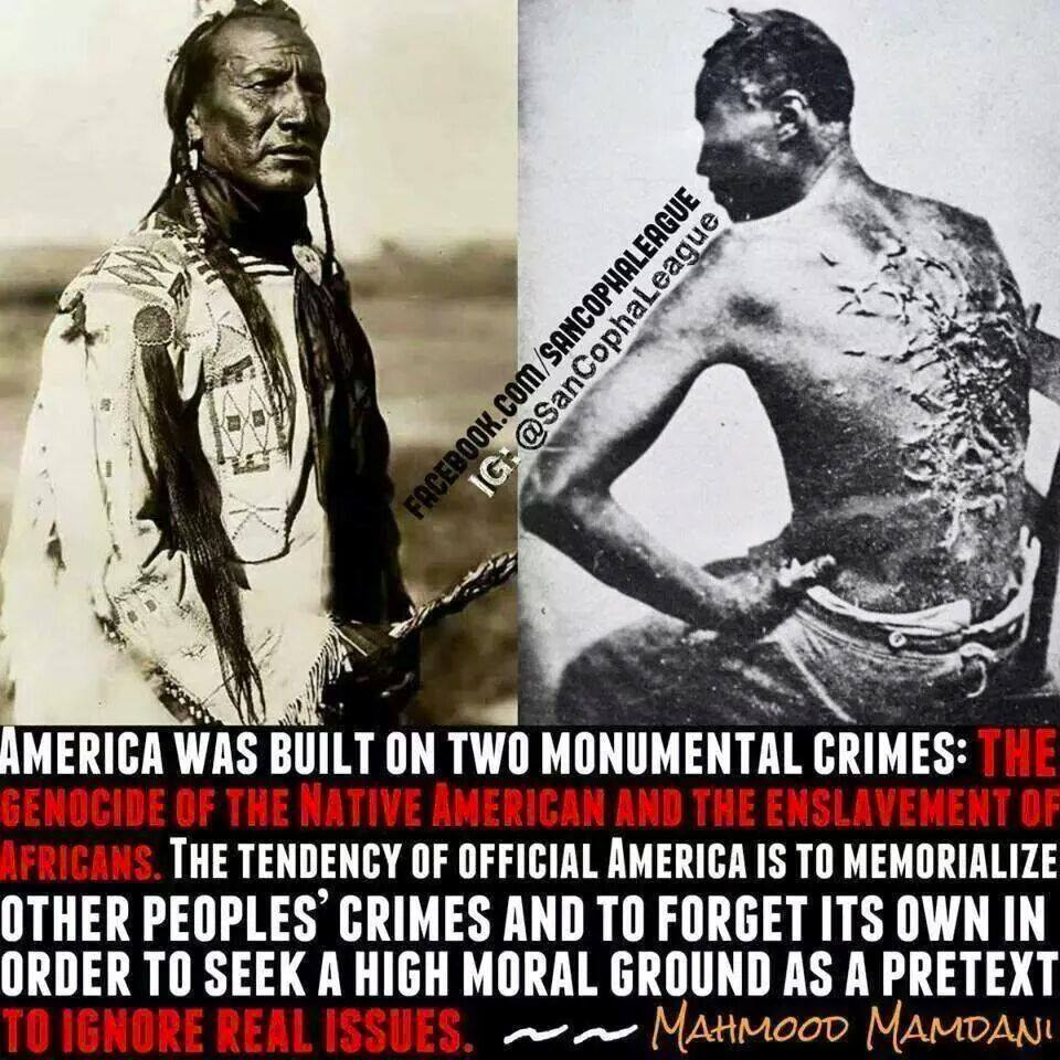 racism against native americans and african Black racism: racism, in its many is rooted in the notion that african americans are justified or violence of african – ancestry people against people from.