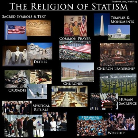 """The Religion of Statism"""