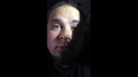 Homeless veteran, Aaron Colyer
