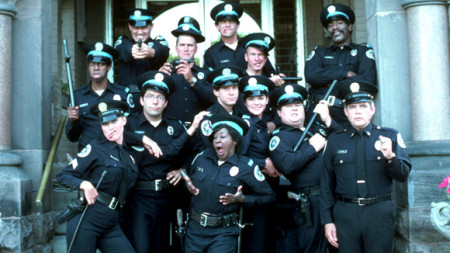 "From the movie, ""Police Academy 4"""
