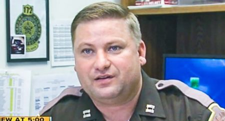 Oklahoma Highway Patrol Captain George Brown