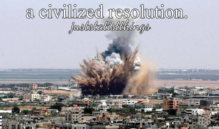 """A civilized resolution #JustStatistThings"""
