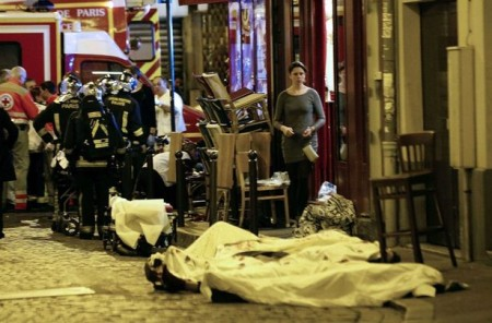 2015-11-22 - Eyewitness Describes Perpetrator in Le Belle Equipe, France Shooting Attack as 'White,' 'Clean Shaven,' with 'Neatly Trimmed' Hair...