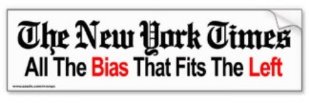 """The New York Times: All the Bias That Fits the Left"""