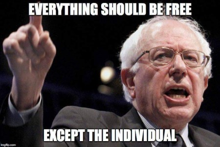 """Everything should be free except the Individual"""