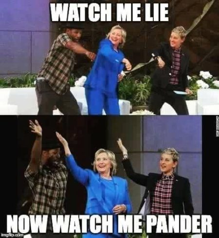 """Watch me lie Now watch me pander"""