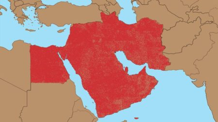Generationally contested land in the Middle-East