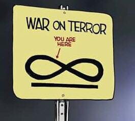"""War on Terror You are here ➝ ∞ """