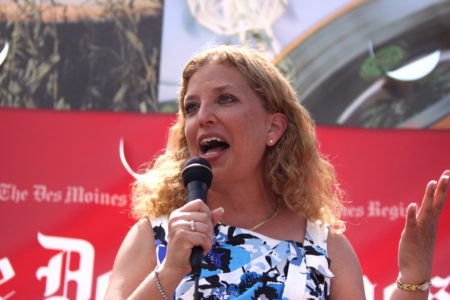 Debbie Wasserman Schultz forced to step down as head of Democratic National Committee after Wikileaks expose her corruption