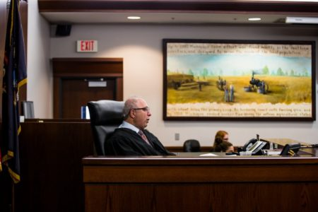 Genesee Circuit Judge Joseph Farah