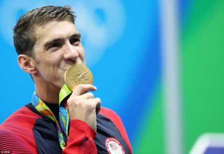 Multiple Gold-Medal-Winning Olympics Swimmer for USA, Michael Phelps