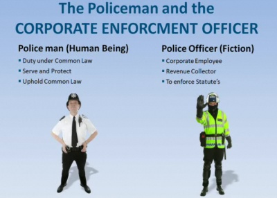 Peace Officer Versus Police Officer