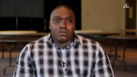 Quinton Thomas, victim of racial profiling by police