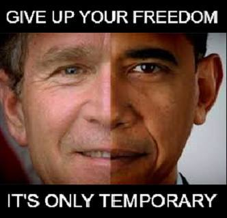 """Give up your freedom It's only temporary"""