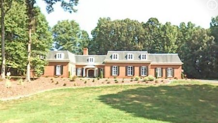Sapona Ridge Country Club home in the small town of Lexington, North Carolina