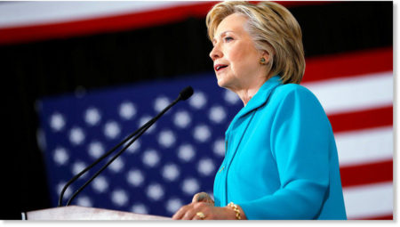 2016 Democratic Presidential candidate, Hillary Clinton, the war monger