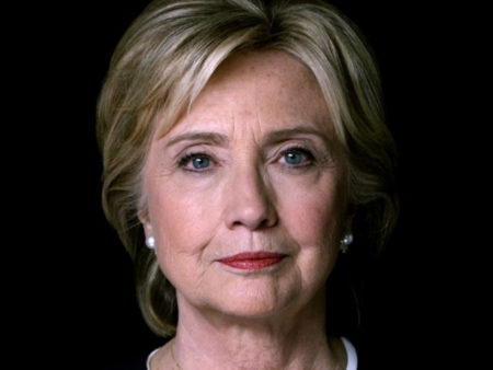 Perpetual war monger and 2016 Democratic Presidential Candidate, Hillary Clinton