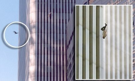 Although these particularly delicate 9/11 images are a source of great discomfort, for various reasons, as they do, indeed, signify a fatal act of desperation on the part of some victims, they should still not be completely erased from history