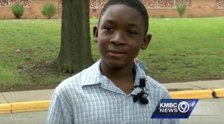 Seven-Year-Old Second Grader, Kalyb Wiley Primm