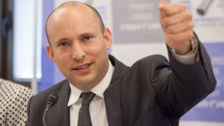 Israel Education Minister, Naftali Bennett